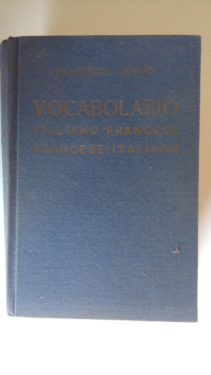 VOCABOLARIO ITALIANO-FRANCESE FRANCESE-ITALIANO