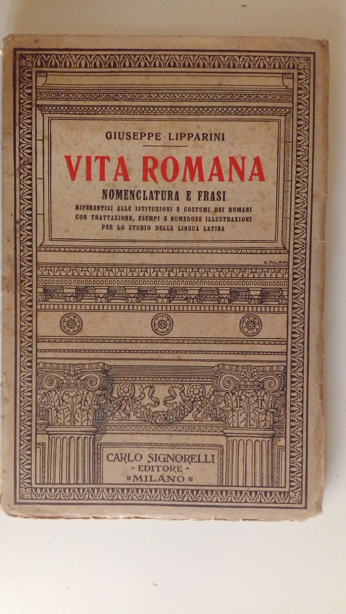 VISIONI - ANTOLOGIA ITALIANA CON POEMI EPICI - VOLUME PRIMO