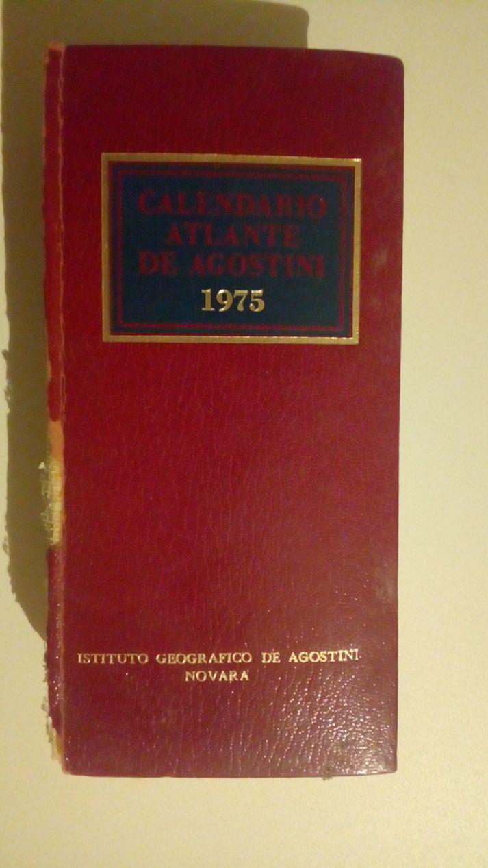 CALENDARIO ATLANTE DE AGOSTINI 1976 - EDIZIONE SPECIALE PER LE FORZE ARMATE